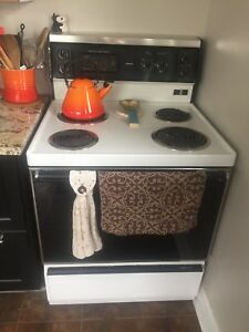 Working stove with brand new element
