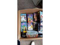 VHS childrens videos