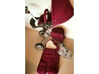 Stokke xplory V3 Pram - Pushchair PLUS accessories