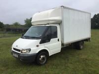 Ford Transit Twin Wheel Luton with tail lift