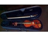 1/4 size Primavera violin, case and bow. Good condition £45 ono