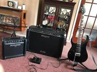 Guitar/music set up sold as 1 item