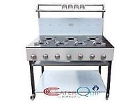 7 BURNER GAS BALTI RANGE COOKER