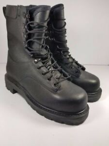 Canadian-Army-STEEL-TOE Temperate Safety Combat Boots Men's 7 R