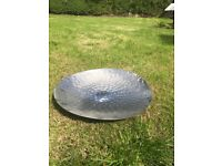 Large Silver serving plate/bowl