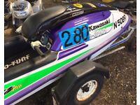 Kawasaki 750 SXI Pro Stand up Jet Ski Jetski