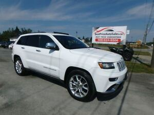 2014 Jeep Grand Cherokee SUMMIT! V8 HEMI! CERTIFIED!