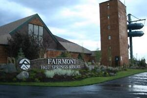 Fairmont British Columbia Riverside Vacation Villa