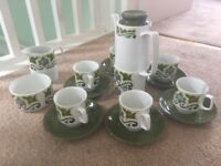 Hostess Tableware John Russell Samantha design Coffee set 17 pieces