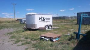 Haulmark 12ft Enclosed Utility trailer