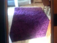IKEA shaggy pile rug