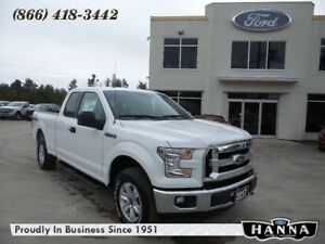 2017 Ford F-150 *NEW* SUPER CAB XLT 4X4 3.5L V6 GAS