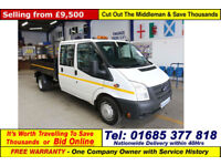2014 - 14 - FORD TRANSIT T350 2.2TDCI 100PS RWD DOUBLE CAB TIPPER (GUIDE PRICE)