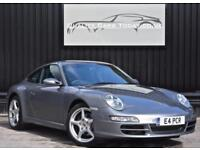 Porsche 911 ( 997 ) 3.6 Carrera Manual Coupe * Seal Grey + Ocean Blue + Cruise *