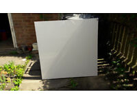 Artist's canvas on stretcher frame, 100 cm x 100 cm
