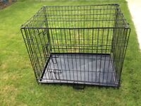 Pet cage h76 w54 d61cm used twice