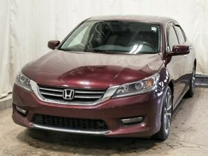2015 Honda Accord Sport Sedan w/ Extended Warranty, Sunroof, Blu