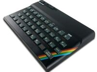 The Recreated Sinclair ZX Spectrum Bluetooth Keyboard QWERTY Layout - New Sealed