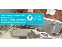 Looking for a Dentist in Manchester? £40 for Private Check-Ups in July