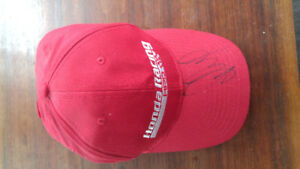 Selling Paul Tracy signed Honda racing hat