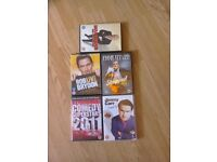 Comedy dvds all in good condition.