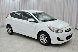 2013 Hyundai Accent GL 5DR HATCH w/ A/C, HEATED SEATS, POWER W/L
