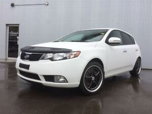 2012 Kia Forte 5-Door SX, LEATHER $ HEATED SEATS, SUNROOF, BLUET