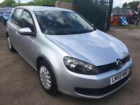 VW GOLF SE 5 DOORS 1.4 PETROL MANUAL SILVER