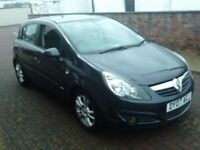 2007 07 VAUXHALL CORSA 1.2 SXI 5 DOOR ** 12 MONTH MOT ** ONLY 88000 MILES ** LOW INSURANCE **