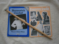 BroomStick Crochet Pin and Patterns