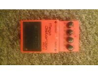 Boss Mega Distortion MD 2 Guitar Pedal