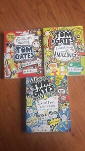 3 Tom Gates books