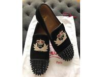 Christian Louboutin black suede Size 40 (new)