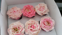 Cupakes for wedding - baby shower - bridal shower - parties