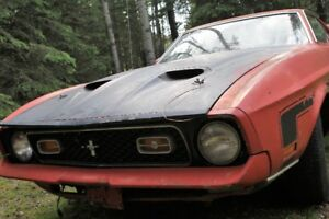 ($1600 Reduction)1972 Ford Mustang, Cobra Jet, Mach 1, Fastback