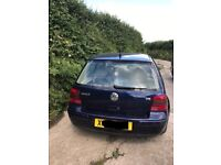 Volkswagen Golf 2.3 V5 Automatic (X reg) 2000 spares/repairs