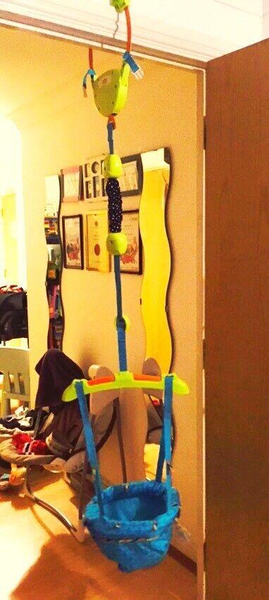 Door jumper-Bounce 'n' Spring Deluxe Door Jumper