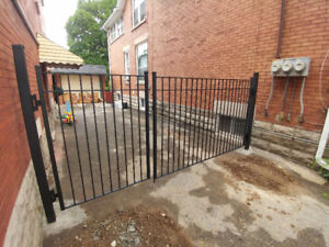 Wrought Iron Metal Solid Fence Panels, Railings, Gates