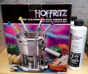 ****Fondue Pot – Stainless Steel – NIB****