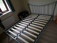 Double Bed (Metal Frame)