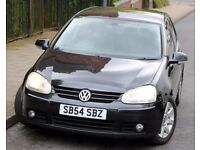 Volkswagen VW Golf 2.0 GT TDi Diesel 5 Doors BLACK MK5 6 Speed Gearbox Mot July 2018 Clean and tidy