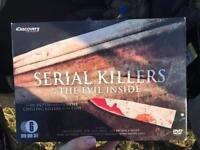 Boxset of serial killer DVDs