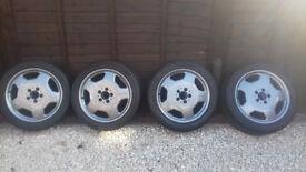 original AMG alloy wheels 17's