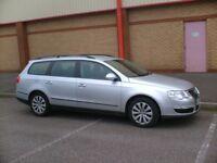 2010 VW PASSAT 1.6 ESTATE BLUEMOTION SILVER 62000 MILES