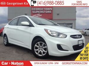 2014 Hyundai Accent GL | HEATED SEATS | BLUETOOTH | AUX/USB |
