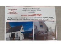 CHARMING COTTAGE - REFURBISHED TO HIGH STANDARD-ONE LARGE DOUBLE BEDROOM-DRIVEWAY/GARDEN -£79,000