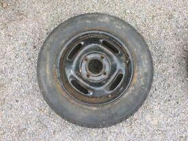 2x Car/Trailer Wheels, 160/65R 315 73T
