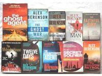 John Wells Novels By Alex Berenson, All First 10 Books, Great Reading, BARGAIN