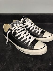 Converse Chuck Taylor All Star Low Top Leather Black