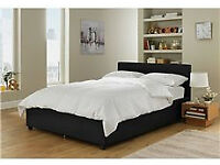 Lavendon Small Double Ottoman Bed Frame - Black